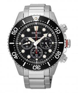 Seiko Prospex Solar Diver´s Relógio Homem Cronógrafo SSC015P1