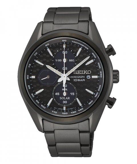 Seiko Macchina Sportiva Relógio Homem Cronógrafo SSC773P1
