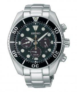 Seiko Prospex 140th Anniversary Limited Edition Island Green Relógio Cronógrafo Homem SSC807J1