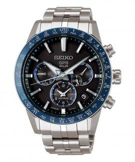 Seiko Astron 5X GPS Solar Titanium Relógio Homem SSH001J1