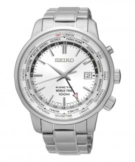 Seiko Neo Sports Kinetic Relógio Homem World Time SUN067P1