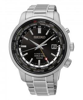 Seiko Kinetic World Time Relógio Homem SUN069P1