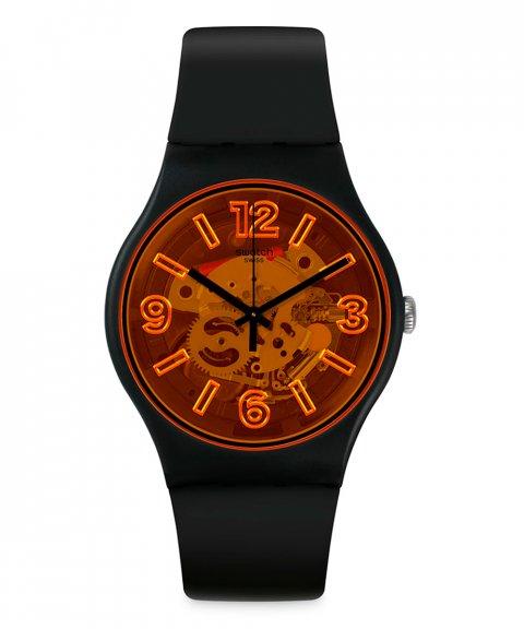 Swatch Bau Swatch Orangeboost Relógio SUOB164
