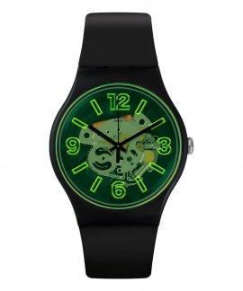 Swatch Bau Swatch Yellowboost Relógio SUOB166