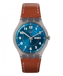 Swatch Time to Swatch Vent Brulant Relógio Homem SUOK709