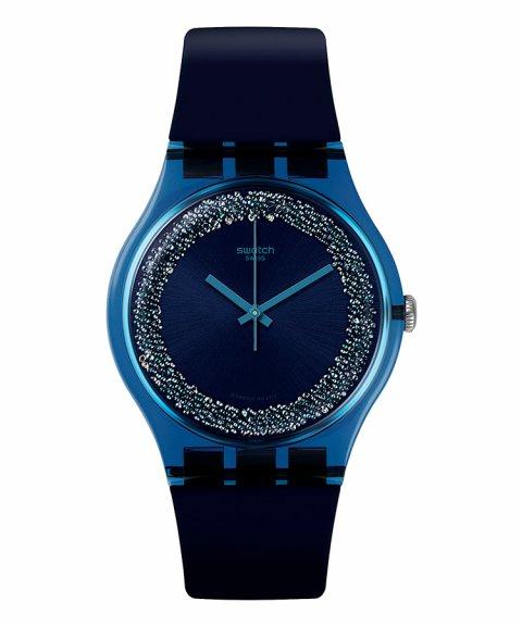 Swatch Think Fun Blusparkles Relógio Mulher SUON134