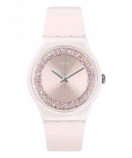 Swatch Think Fun Pinksparkles Relógio Mulher SUOP110