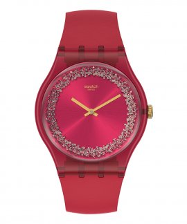 Swatch Essentially Ruby Rings Relógio Mulher SUOP111