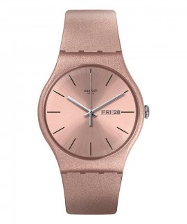 Swatch Worldhood Pinkbayang Relógio Mulher SUOP704