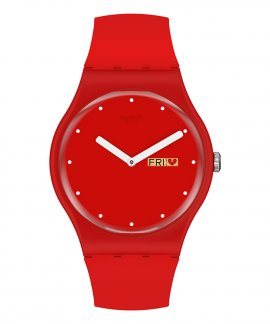 Swatch P(e/a)nse-Moi Relógio Mulher SUOZ718