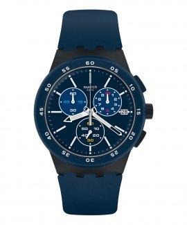 Swatch Chrono Blue Steward Relógio Homem SUSB417