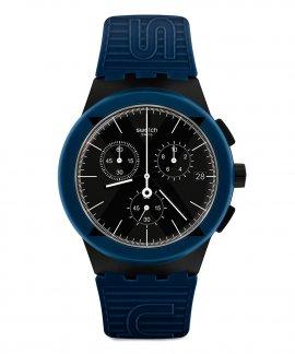 Swatch Bau Swatch X-District Blue Relógio Homem Chronograph SUSB418