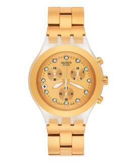 47a872e1d47 Swatch Full Blooded Relógio Mulher Chronograph SVCK4032G