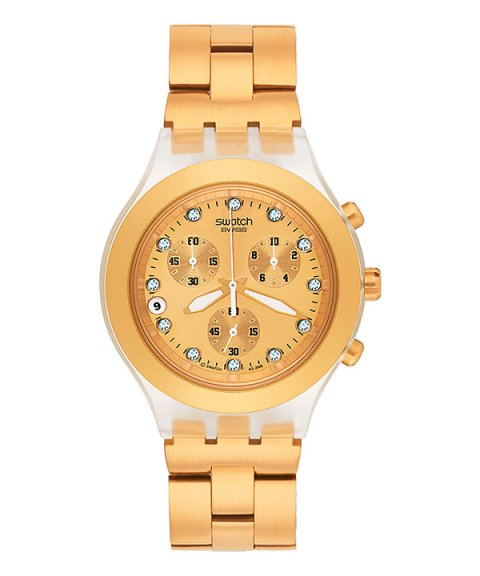 Swatch Full Blooded Relógio Mulher Chronograph SVCK4032G