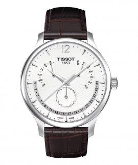 Tissot T-Classic Tradition  Perpetual Calendar Relógio Homem T063.637.16.037
