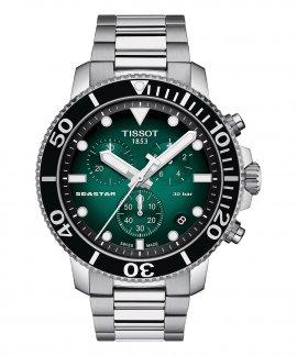 Tissot T-Sport Seastar 1000 Relógio Cronógrafo Homem T120.417.11.091.01