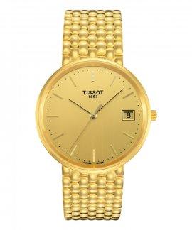 Tissot T-Gold Goldrun Sapphire 18K Gold Relógio Homem T73.3.403.21