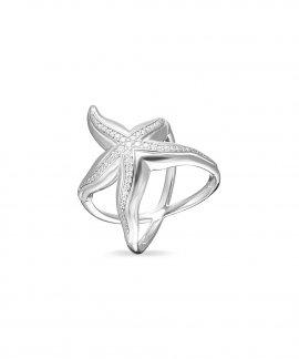 Thomas Sabo Starfish Joia Anel Mulher TR2184-051-14