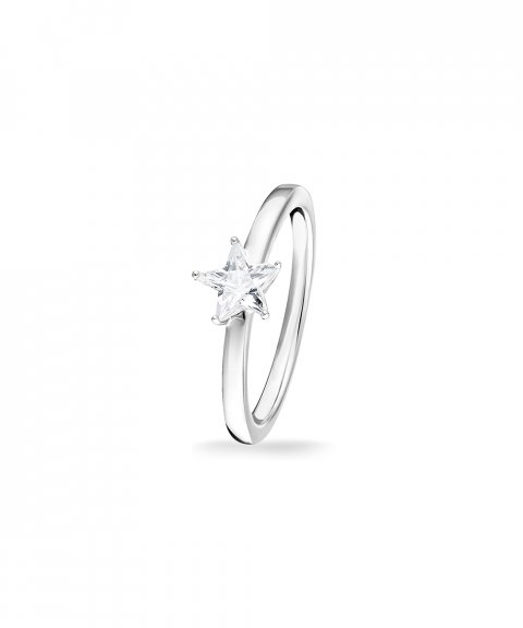 Thomas Sabo Sparkling Star Joia Anel Mulher TR2270-051-14