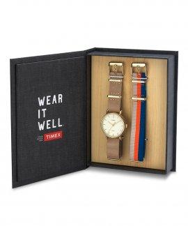 Timex Weekender Fairfield Box Set Relógio Mulher TW2P98400-BOX
