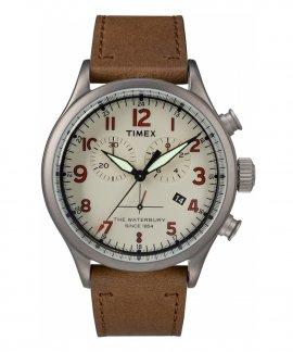 Timex Waterbury Gunmetal Relógio Homem Chronograph TW2R38300