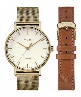 Timex Fairfield Gift Set Relógio Mulher TWG016600