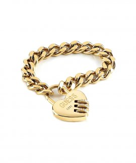 Guess Lock Me Up Joia Pulseira Mulher UBB20063-S