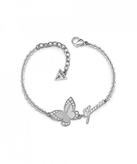Guess Love Butterfly Joia Pulseira Mulher UBB78049-S