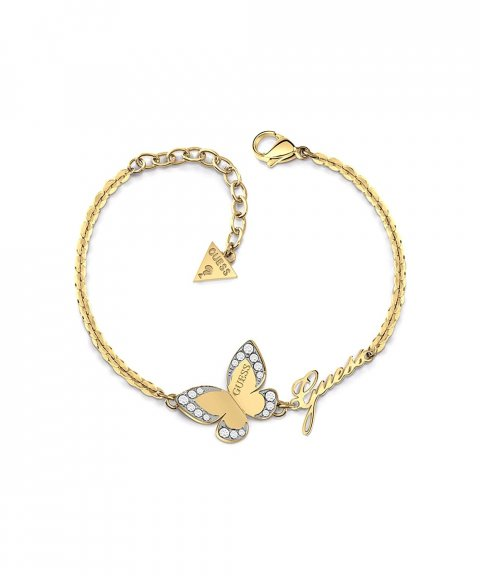 Guess Love Butterfly Joia Pulseira Mulher UBB78050-S
