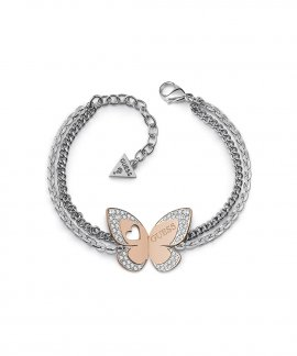 Guess Love Butterfly Joia Pulseira Mulher UBB78053-S