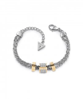 Guess Love Knot Joia Pulseira Mulher UBB78059-S