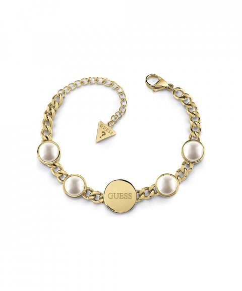Guess Pearls Joia Pulseira Mulher UBB78071-S