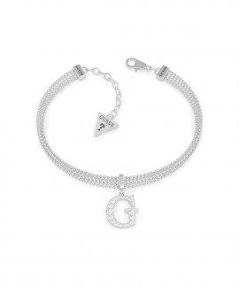 Guess G Multi Chain Joia Pulseira Mulher UBB79084-S