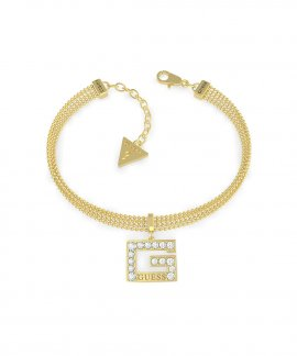 Guess G Multi Chain Joia Pulseira Mulher UBB79088-S