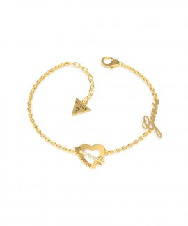 Guess Across My Heart Joia Pulseira Mulher UBB79091-S