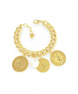 Guess Coin Joia Pulseira Mulher UBB79150-S
