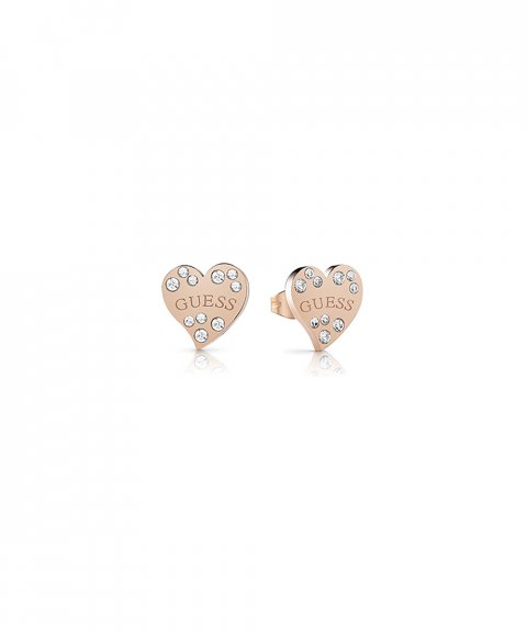 Guess Heart Warming Joia Brincos Mulher UBE78053