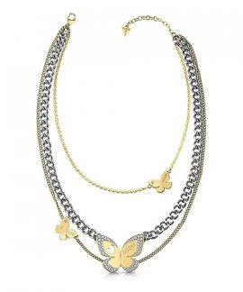 Guess Love Butterfly Joia Colar Mulher UBN78036