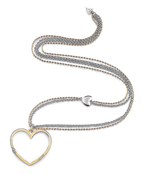Guess Unchain My Heart Joia Colar Mulher UBN78073