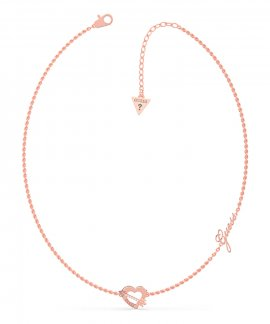 Guess Across My Heart Joia Colar Mulher UBN79061