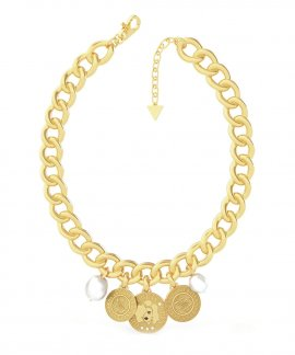 Guess Coin Joia Colar Mulher UBN79125