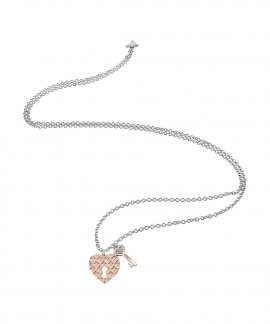 Guess Love Keys Joia Colar Mulher UBN83074