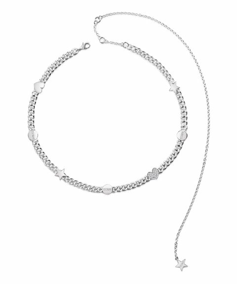 Guess Love Chain Joia Colar Mulher UBN84031