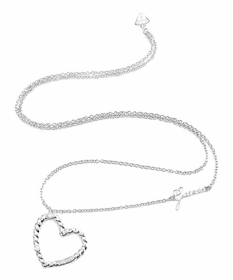 Guess Twisted Joia Colar Mulher UBN85041