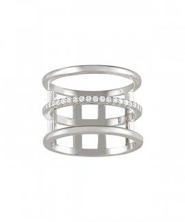Unike Jewellery Glow Lines Joia Anel Mulher UK.AN.1204.0114
