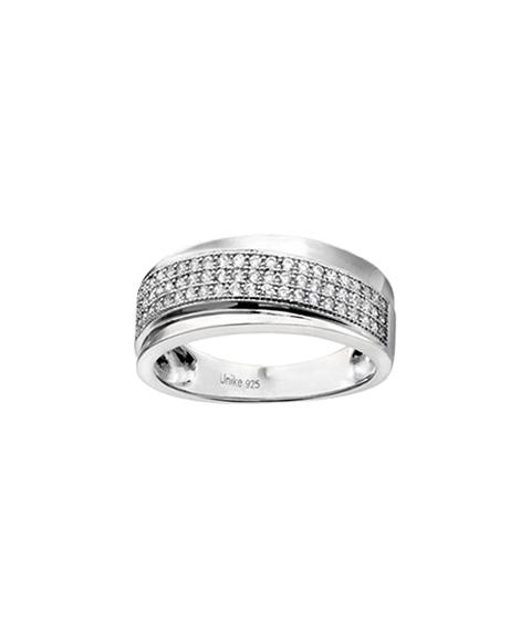 Unike Jewellery Classy Shiny Joia Anel Mulher UK.AN.1205.0019