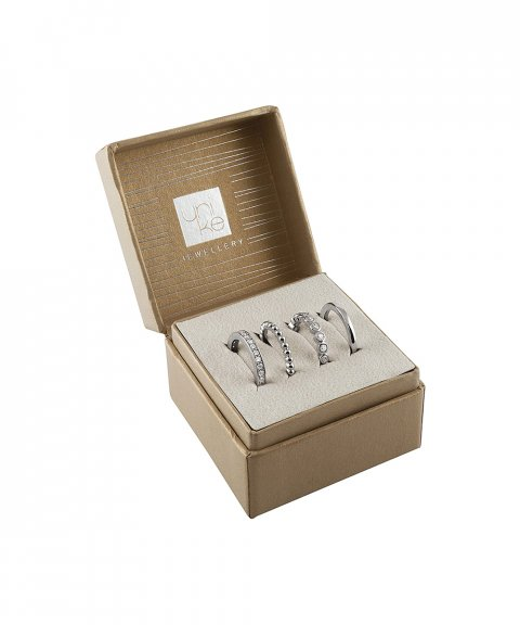 Unike Jewellery Classy Moody Pack Joia Anel Mulher UK.AN.1206.0081