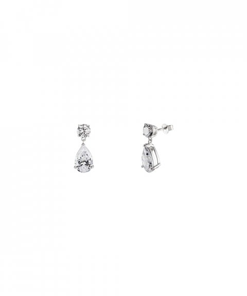Unike Jewellery Classy Solitaire Joia Brincos Mulher UK.BR.1202.0005