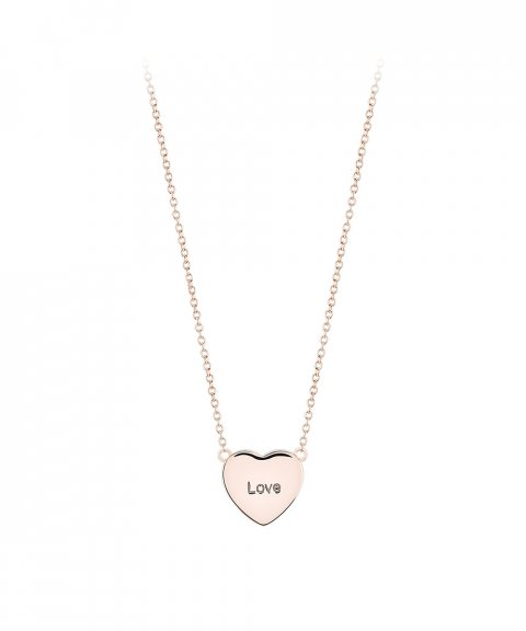 Unike Jewellery Heart Love Joia Colar Mulher UK.CL.1204.0176