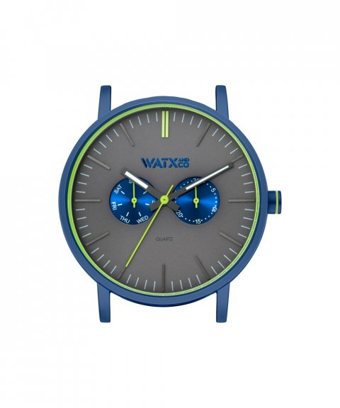 Watx and Co 44 Analogic Psicotropical Grey Relógio WXCA2726
